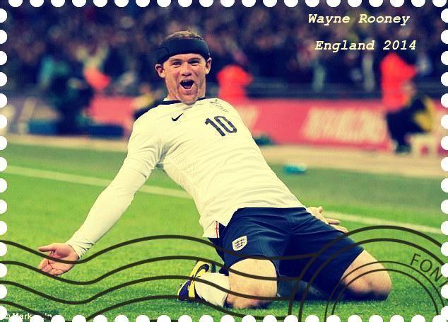 StampedeBeta-Stamp Design Contests - Stamp Profile - Wayne Rooney