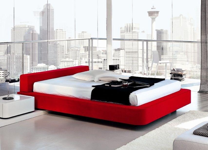 Domino Upholstered Bed | Bedroom | Pinterest | Bedroom red, Bedroom ...