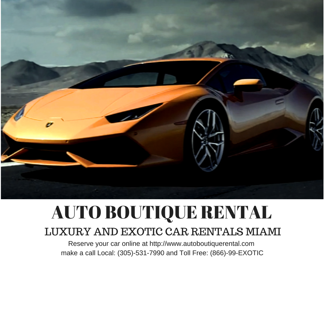 Pin On Exotic Car Rental In Miami Florida