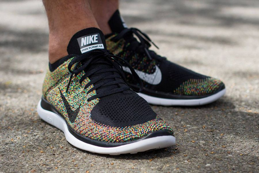 promo code cd7ec fee49 multicolor nike free 4 0 flyknit 04 900x599 Multi color Nike Free 4.0  Flyknit