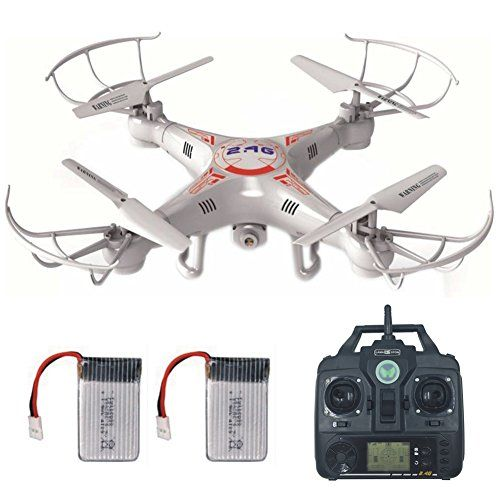 RC Drone With Camera For Beginners LAMASTON X5C1 Helicopter Quadcopter Kit Toy 24G Remote Control