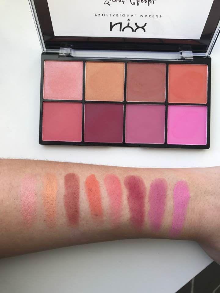 Nyx Sweet Cheeks Blush Palette Makeup Beauty Makeup Nyx