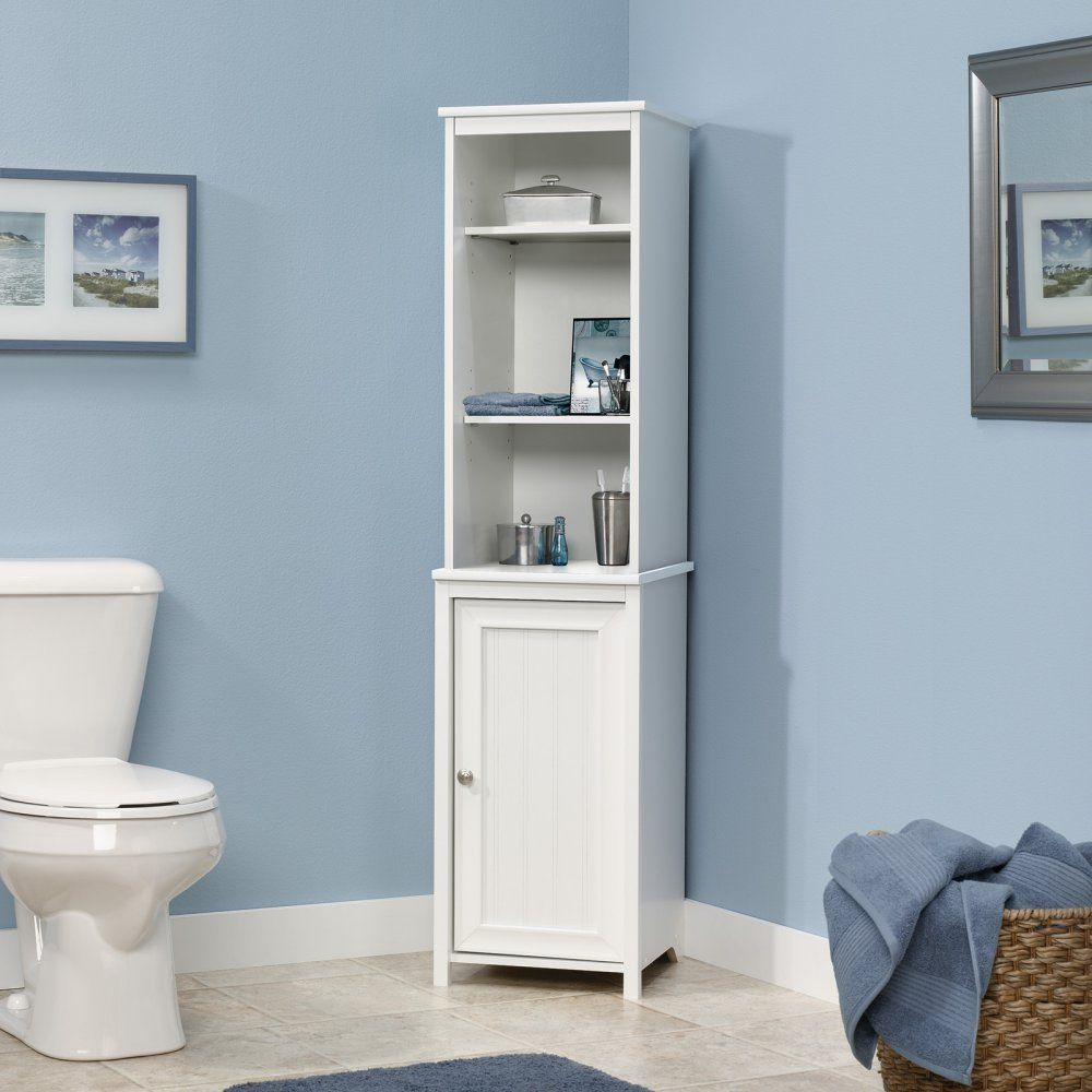 LITTLE BIG LIFE: This tall tower cabinet is meant for bathroom, but ...