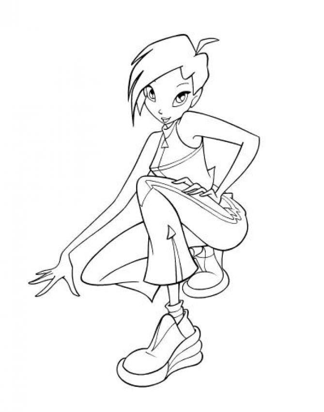 BLOOM Coloring Pages