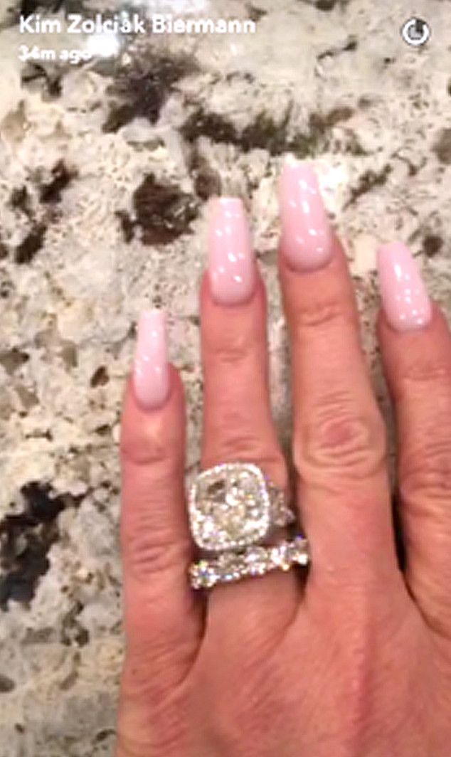 Kim Zolciak Wedding Ring