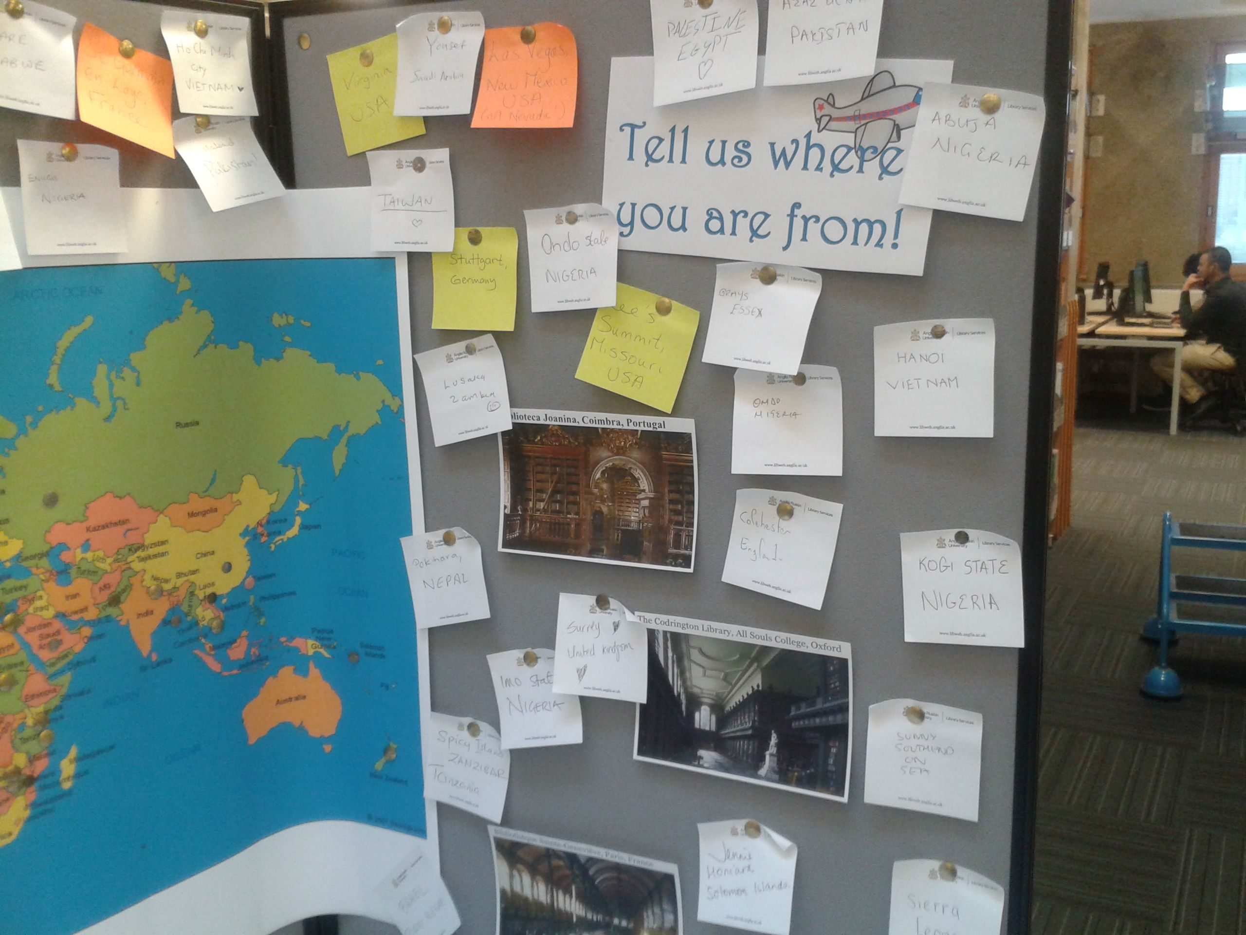 TELL US WHERE YOU COME FROM International Festival ARU Chelmsford