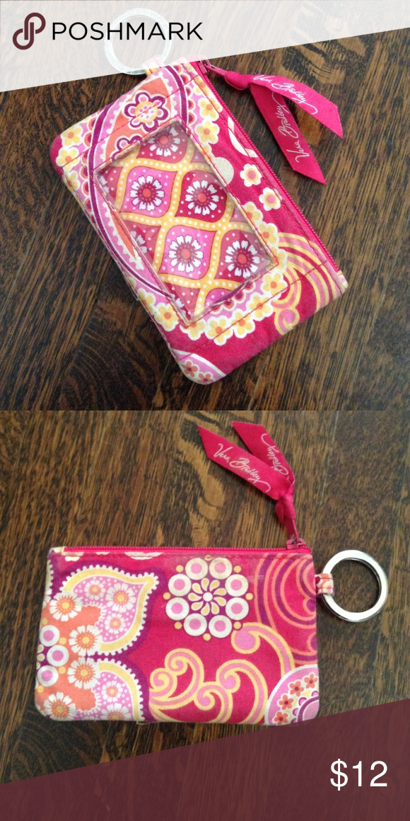 Cute spring/summer VB ID holder 🌺🌸 Good condition. Shows minimal signs of use. Cute Vera Bradley wallet! Vera Bradley Bags Wallets