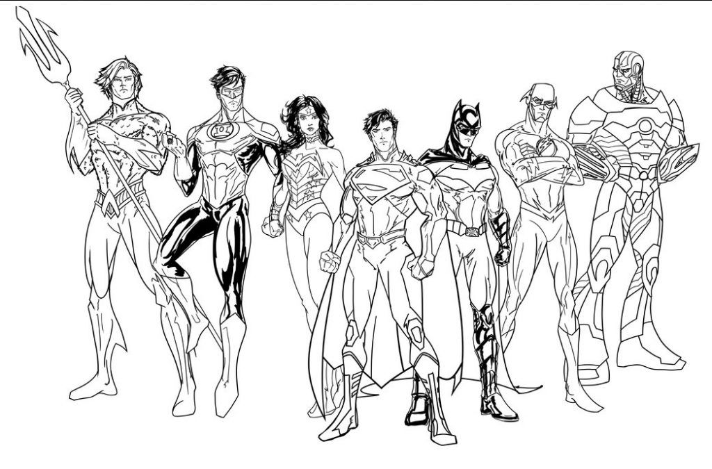 Justice League Coloring Pages Best Coloring Pages For Kids Superhero Coloring Pages Marvel Coloring Superhero Coloring