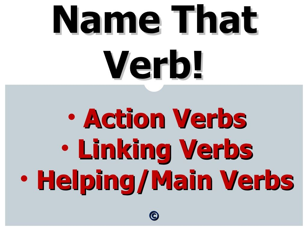 Helping Verbs By Vickytg123 Via Slideshare