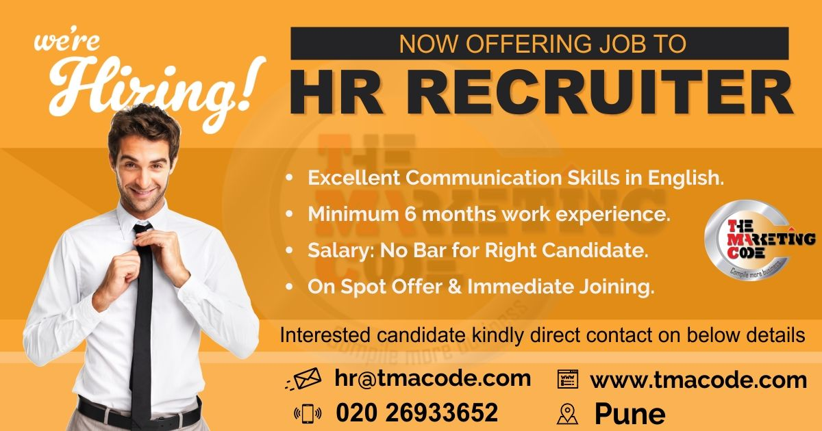 Hello Connections We Are Hiring Hr Recruiters For More Information Call On 020 26933652 Share Your Cv At Hr Tmacode Co Job Opening Job Hunting We Are Hiring