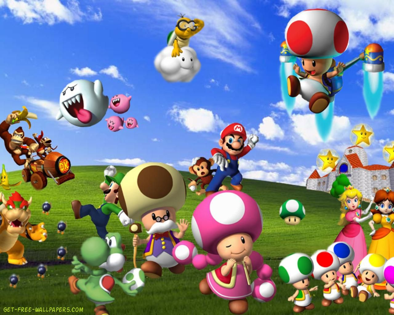 Super Mario HD Wallpapers Group 1920×1200 Mario Pictures
