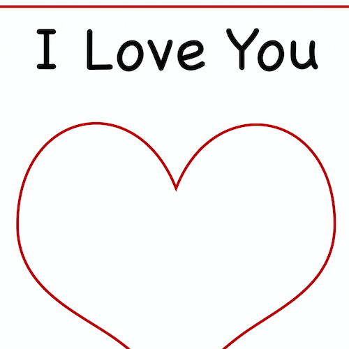 I Love You To Pieces Template Love You To Pieces My Love Love You