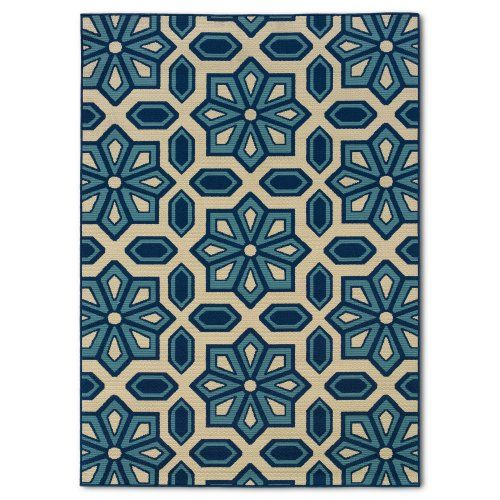 Find it at the Foundary - Caspian 969W6 Indoor/Outdoor Rug - 3.7 x 5.6 ft.