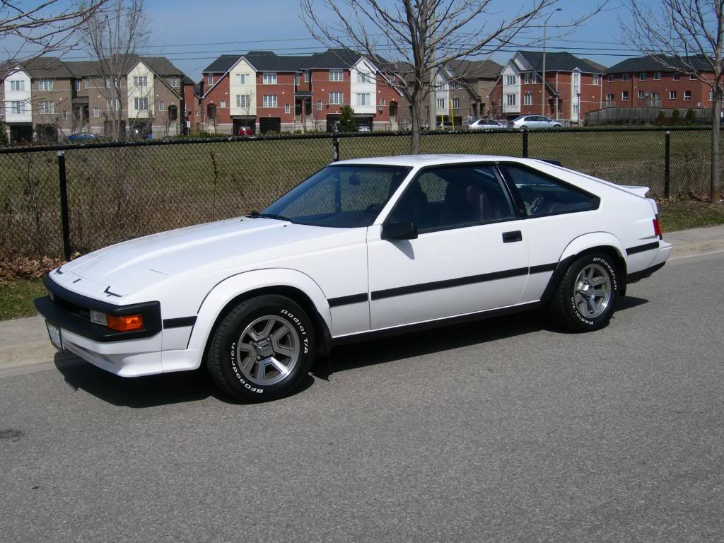 1986 toyota celica i owned it for 9 days when i was rear ended by