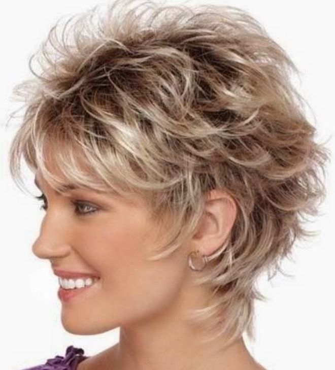 Short Shag Hairstyles For The Stylist  Hairstyles  Pinterest  Stylists Hair Style And