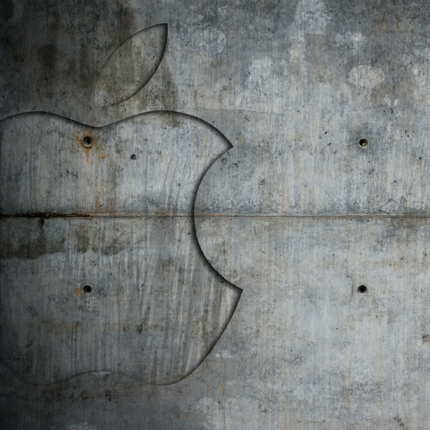 Concrete Apple Ipad Wallpaper Apple Ipad Wallpaper Apple Logo