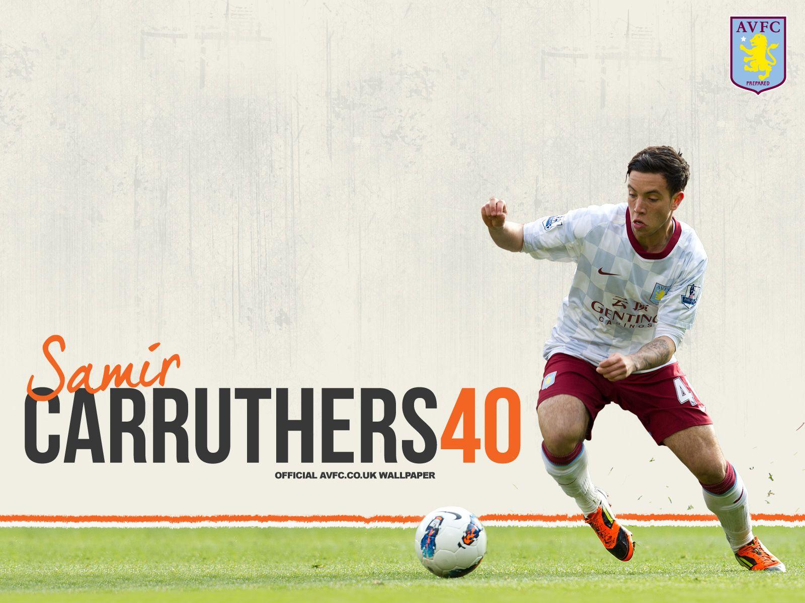 Samir Carruthers Aston Villa Fc Wallpaper