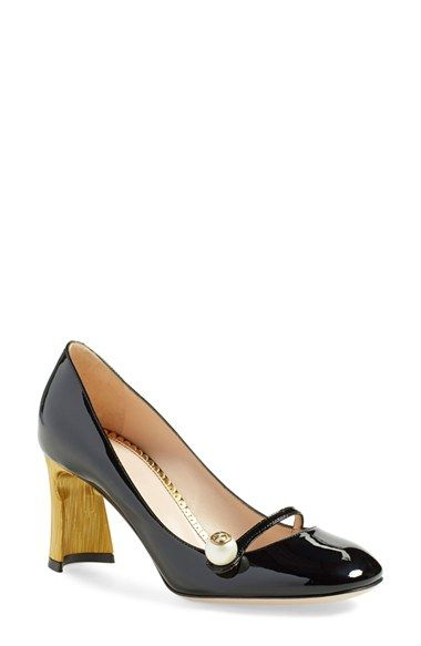 e97ba91ebff Gucci  Arielle  Half Moon Heel Pump (Women) available at  Nordstrom ...