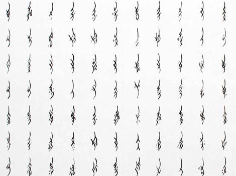 女書 Nüshu is a special form of writing that is only used