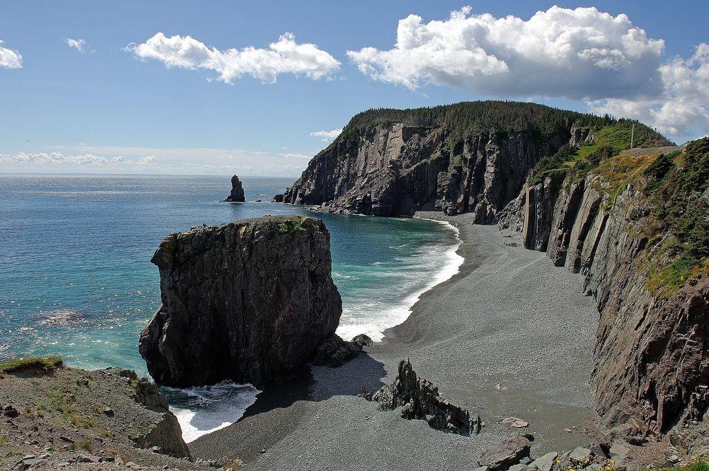 Coastline near Trinity Newfoundland, labrador