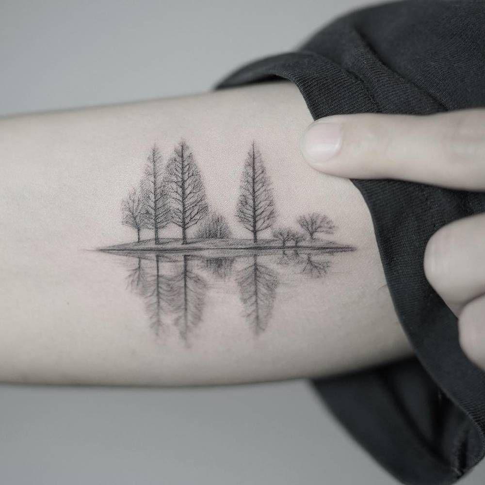 21 Fotos de tatuajes de bosques