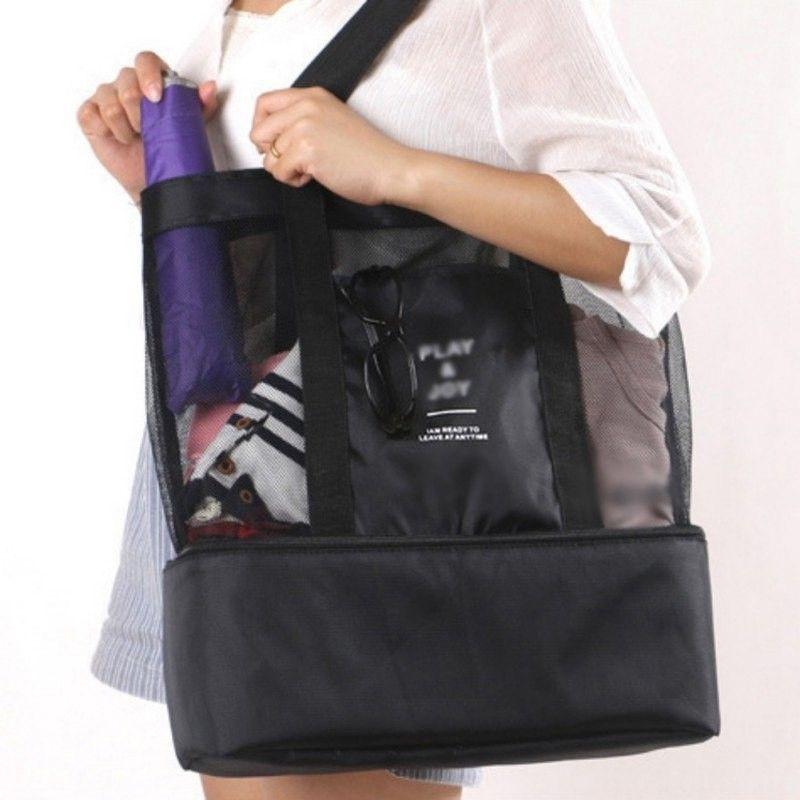 2018 Women Beach Summer Bag Tote New Shoulder Handbag Purse Clear  Transparent GC  3pil d01823b161db5