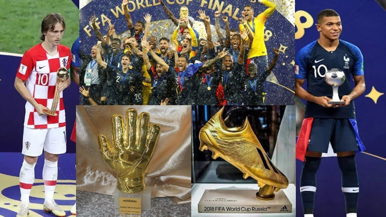 World Cup 2018 Awards All Winner List World Cup 2018 Golden Ball Bo Celebrity Lifestyle Fifa World Cup 2018