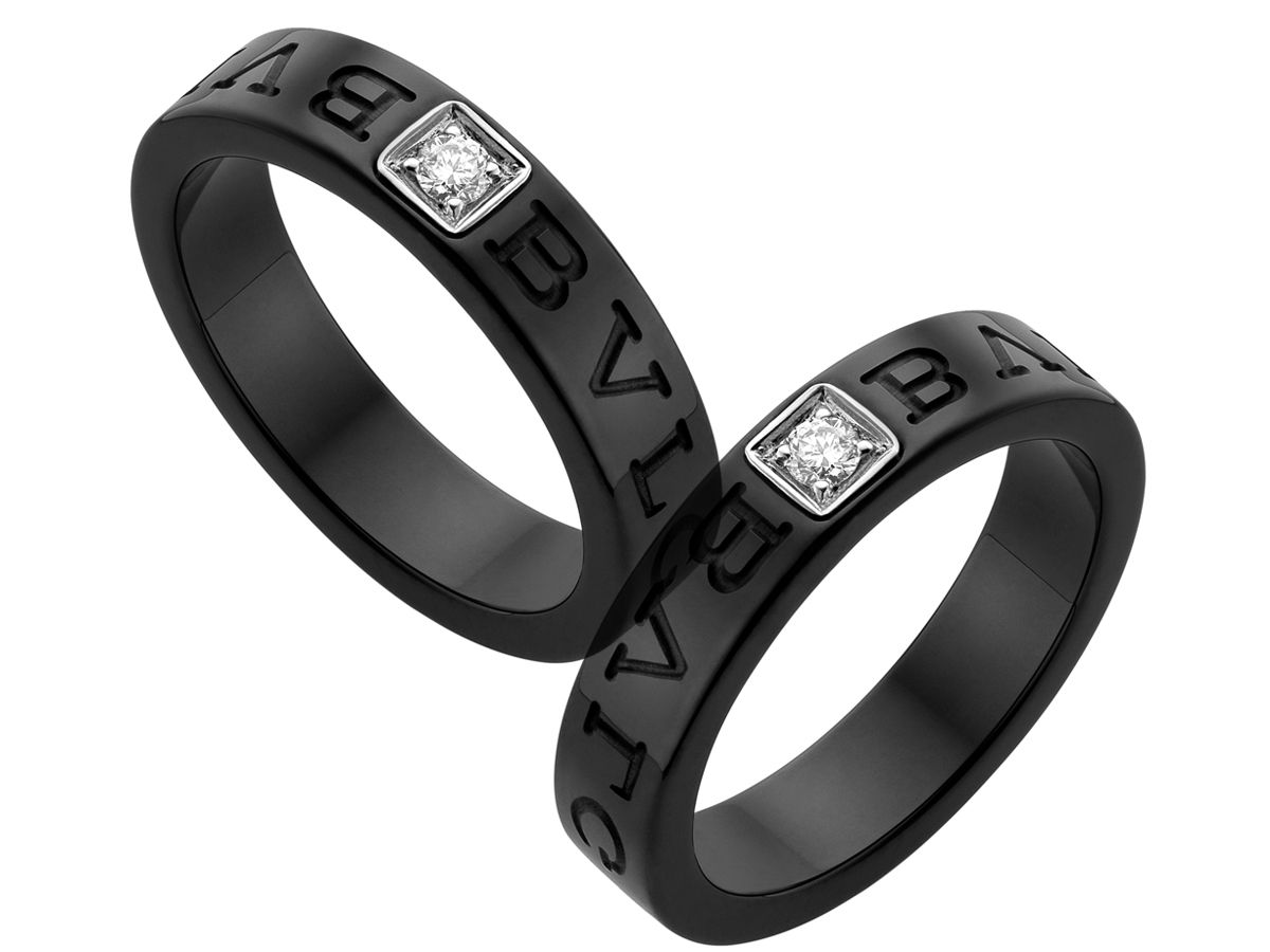 diamond black ceramic ring and be my wedding ring
