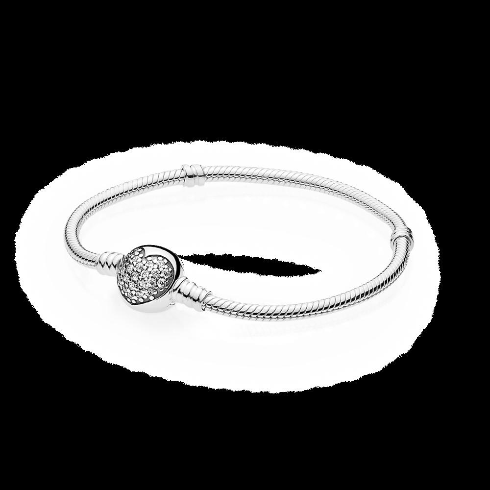 Bracelets Silver Gold Leather Pandora Ezust Ekszerek
