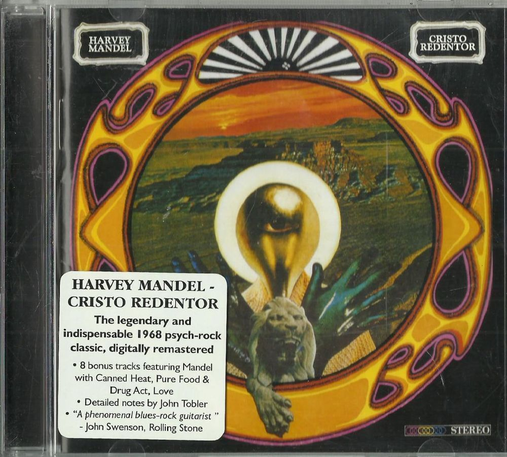 Cristo Redentor...Plus Selected Sessions [Remaster] by Harvey Mandel (CD, Jun-20 | eBay