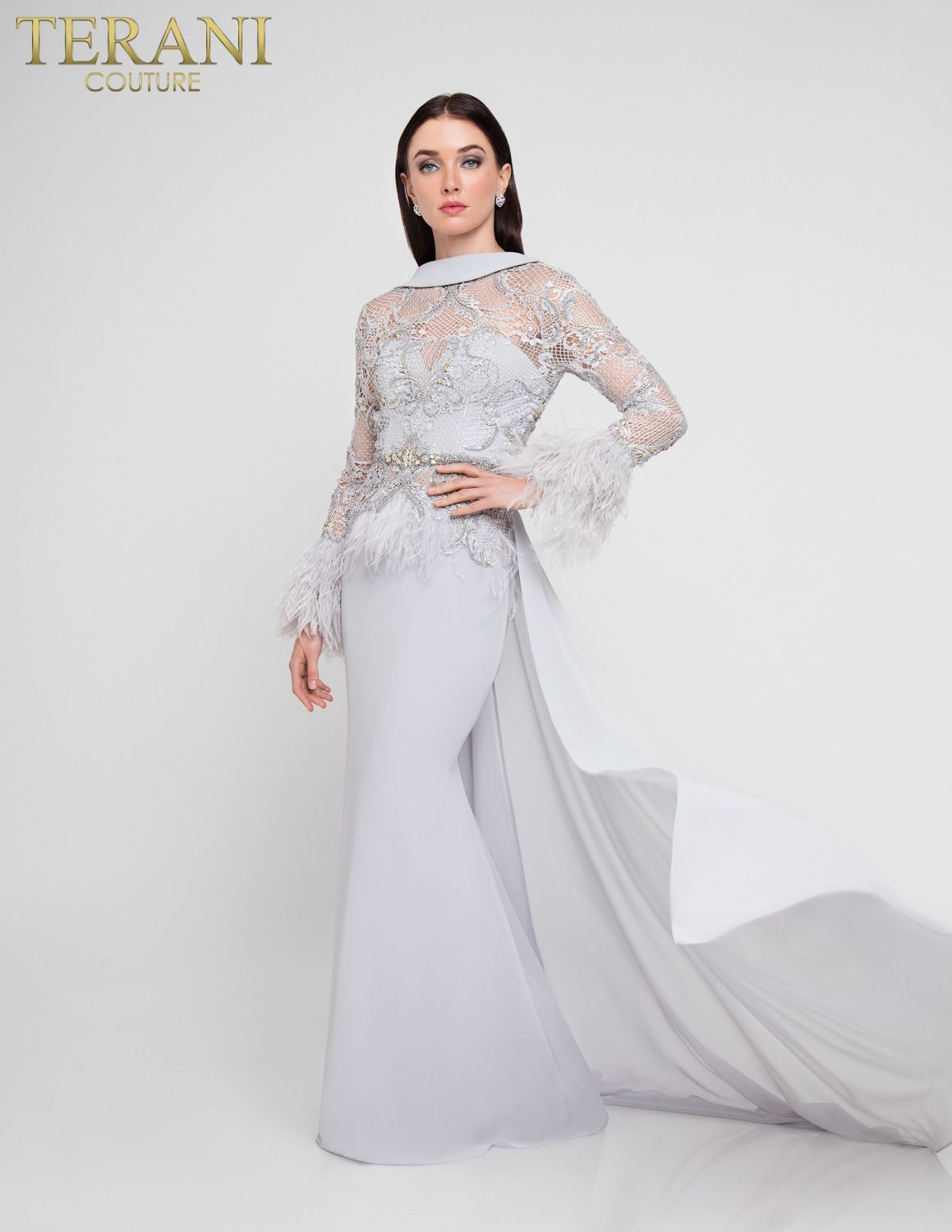 1911P8640 | Dresses, Evening gowns, Mermaid gown