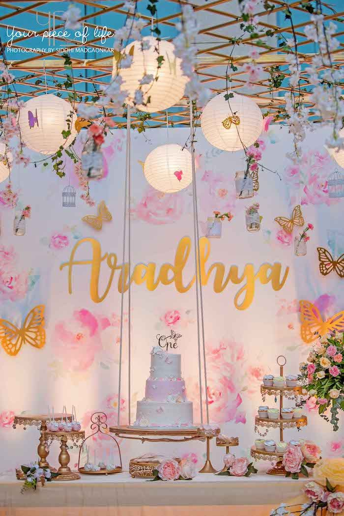 Pastel Butterfly Garden Party | Kara's Party Ideas