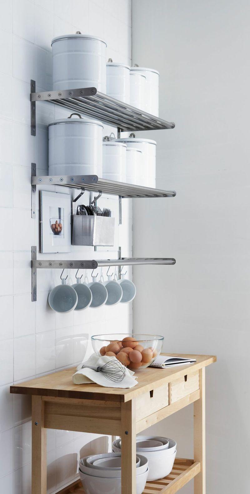 Stilvolle Küchenregale für eine minimalistische Einrichtung ...