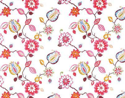Sidonie o7780001 designed by pierre frey fabrics for Tessuti arredamento inglesi
