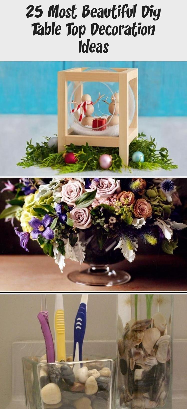 25 most beautiful diy table top decoration ideas decor