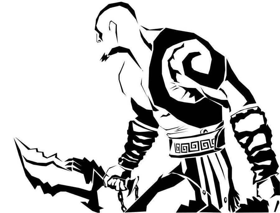 Kratos By Typhoonbow Deviantart Com On Deviantart Games
