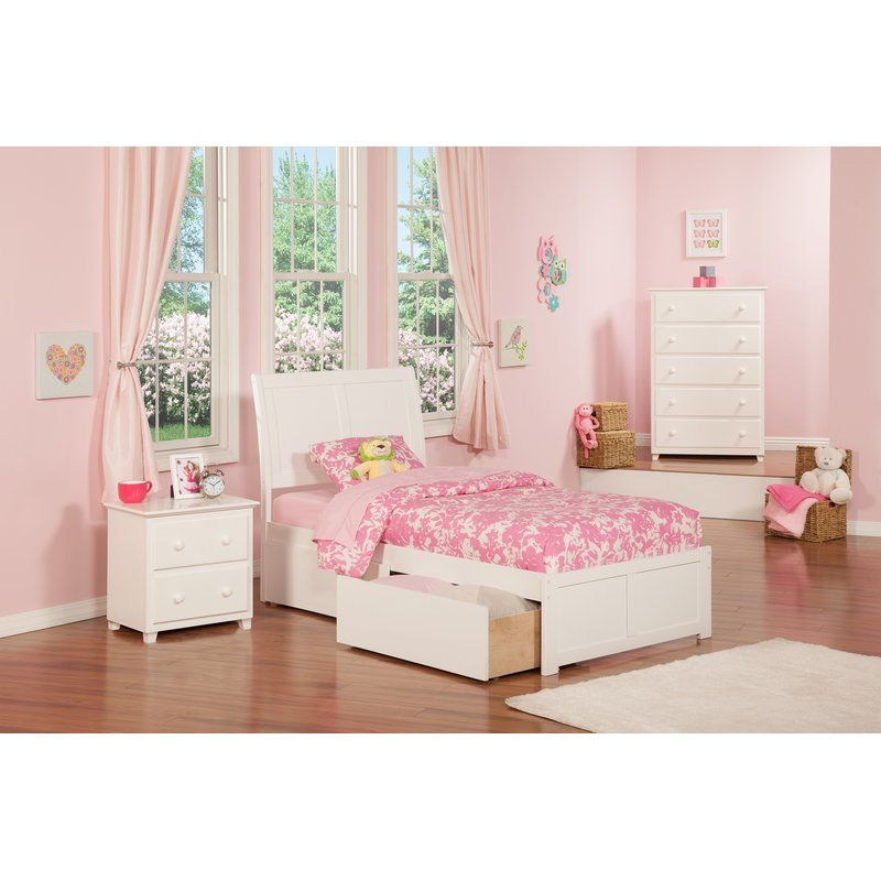 Harriet Bee Quitaque Storage Platform Bed Reviews Wayfair Quarto De Menina Quarto Meninas