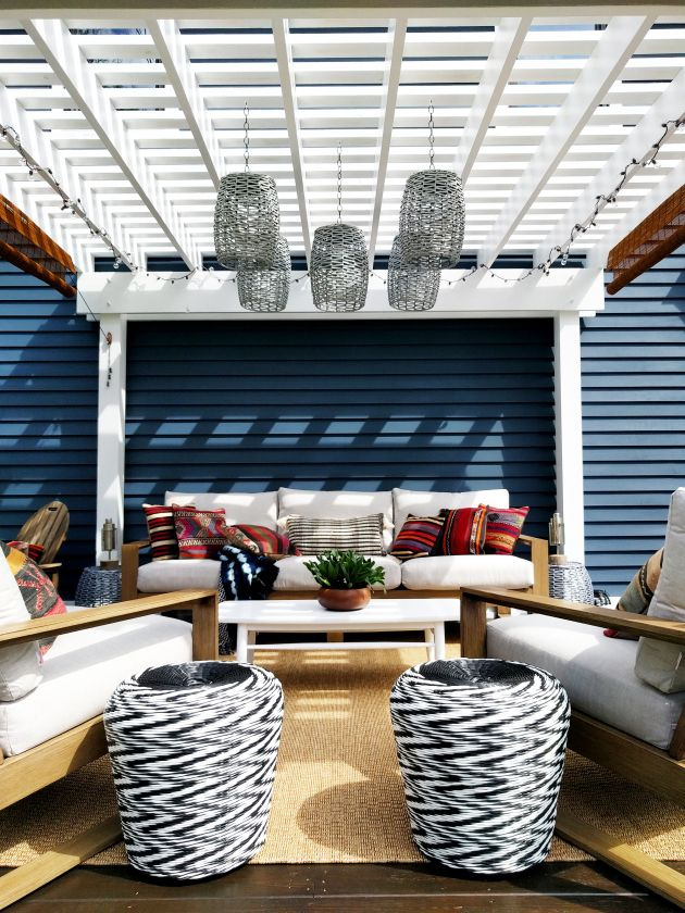 all decked out with raymour flanigan inspiring blogger decor pinterest patio outdoor and outdoor rooms