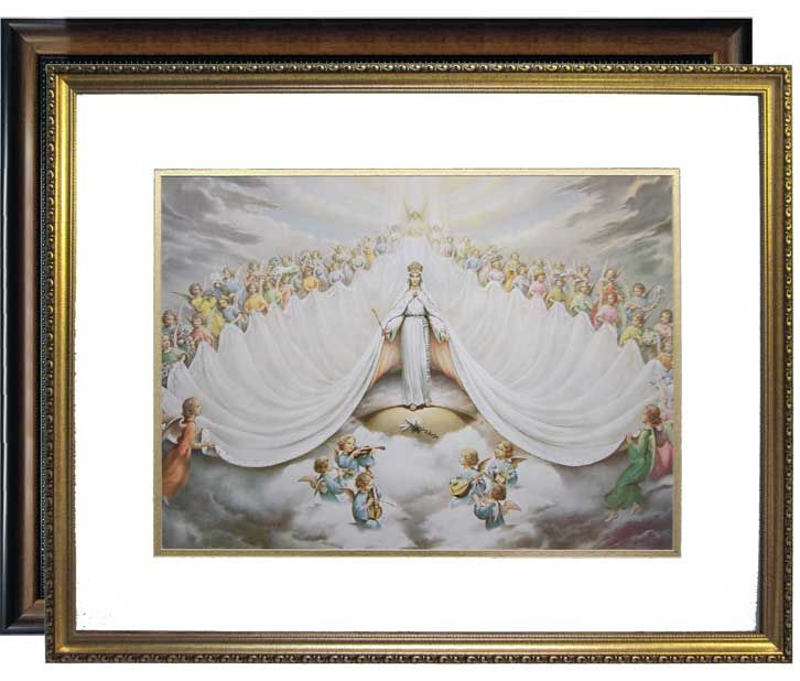 Mary Immaculate Queen Of The Universe Framed Or Print Only Pictures Of Mary Mary Immaculate Frame