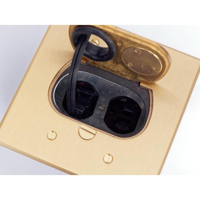 Concealed Recessed Floor Box 1