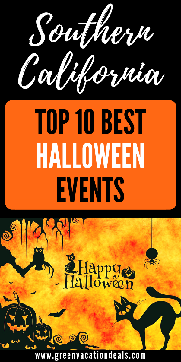 Top 10 Best Southern California Halloween Events