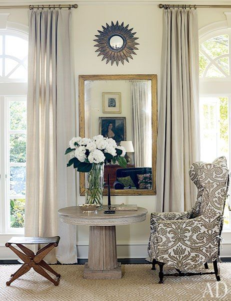 room victoria haganu0027s connecticut house a 19thcentury english wing chair is