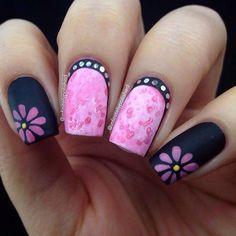 arte del clavo de la flor - 50 Flor Diseños Nail Art | Arte y Diseño