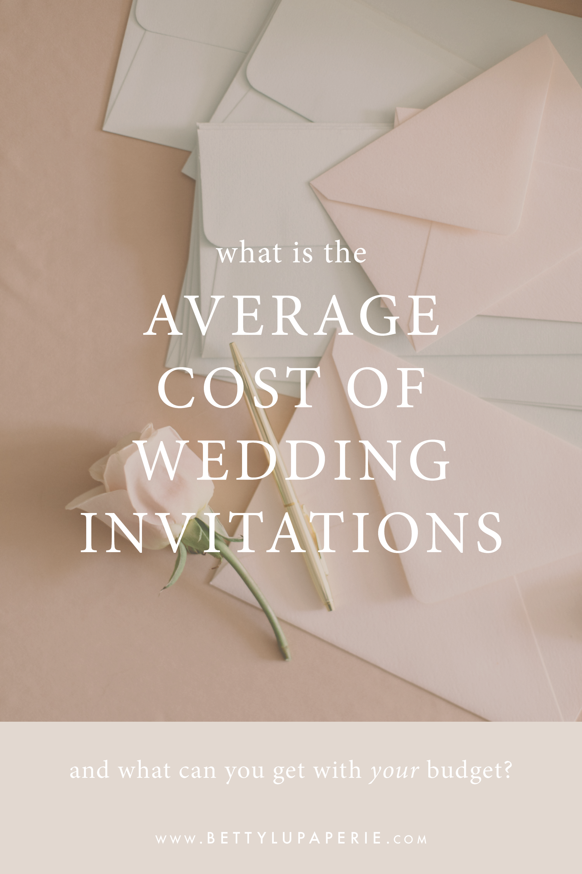 What Is The Average Cost Of Wedding Invitations Floral Wedding Invitations From Betty Lu Paperie Wedding Costs Floral Wedding Invitations Wedding Planning Tips