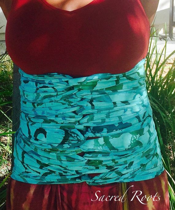 NEW Postpartum Bengkung Belly Binding With By