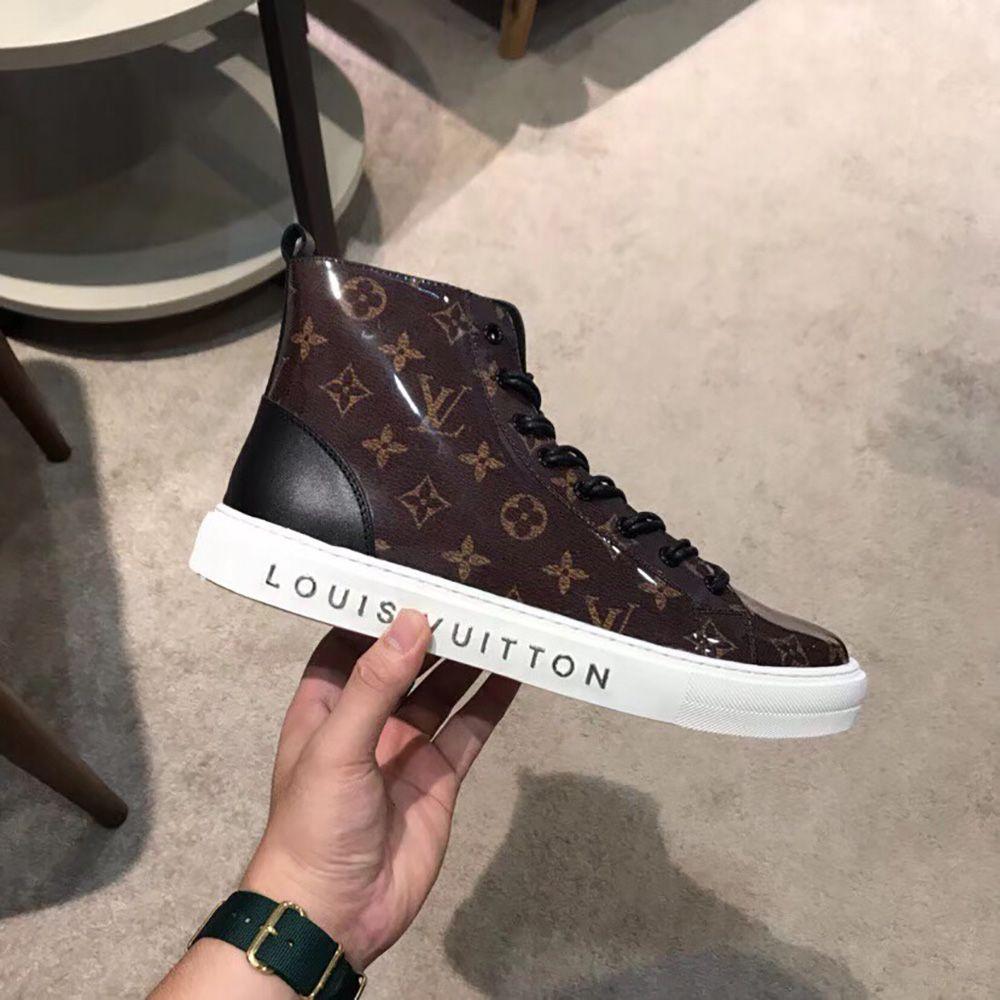 Louis Vuitton Monogram Sneaker Boots