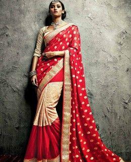 Exclusive Meena Bazaar sari