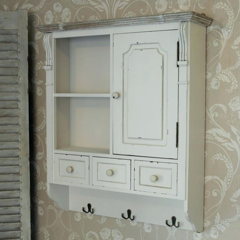 Bathroom Wall Cabinet With Drawers In 2020 Wall Mounted Cabinet White Bathroom Storage Bathroom Wall Cabinets