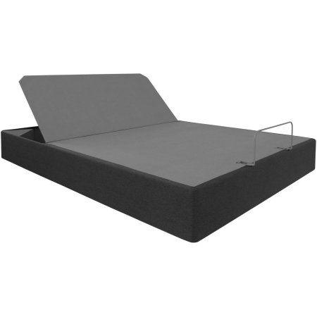Home Adjustable Base Bed Frame Headboard Trundle Bed Frame