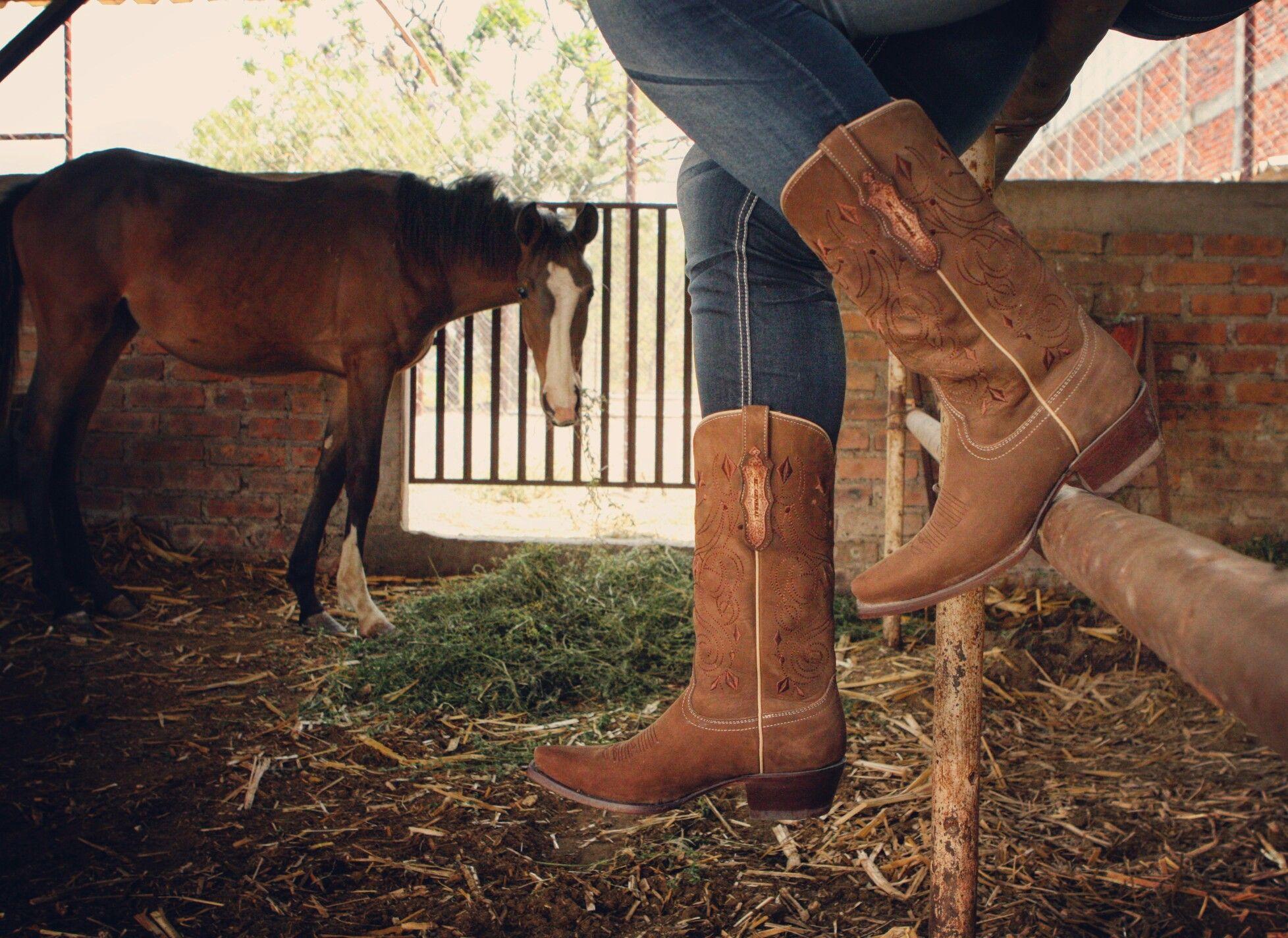 botas vaqueras de dama